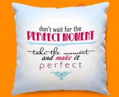 Perfect Typography Funky Sofa Cushion