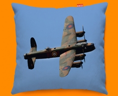 Lancaster Avro Plane Sofa Cushion