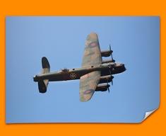 Lancaster Avro Plane Poster