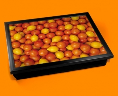 Oranges Lemons Cushion Lap Tray