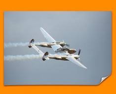 Lightning Lockheed Plane Poster