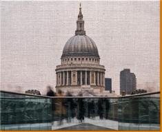 Londons' St Paul Canvas Art Print