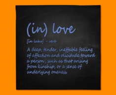 Love Definition Napkins (Set of 4)