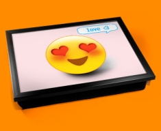 Love Emoticon Lap Tray