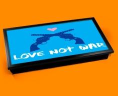 Love Not War Laptop Lap Tray