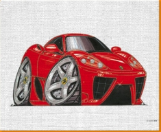Maranello Canvas Art Print