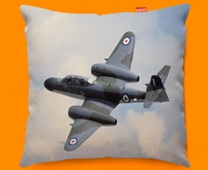 Meteor Gloster Plane Sofa Cushion