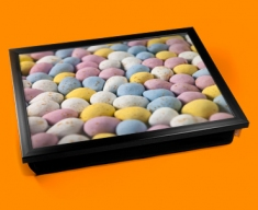Mini Eggs Cushion Lap Tray