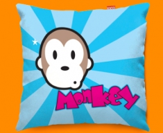 Monkey Funky Sofa Cushion 45x45cm