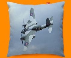 Mosquito de Havilland Plane Sofa Cushion