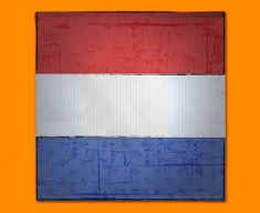 Netherlands Flag Napkins (Set of 4)