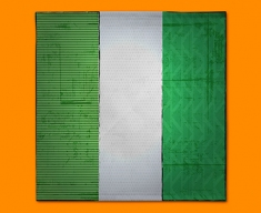 Nigeria Flag Napkins (Set of 4)