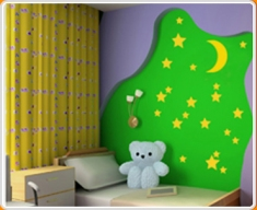 Nightime Set Wall Sticker