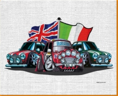 Old Italian Job Canvas Art Print