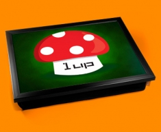 One Up Mushroom Cushion Lap Tray