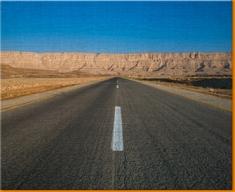 Open Road Canvas Art Print