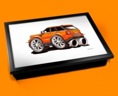 Orange Range Cushion Lap Tray