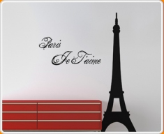 Paris Je Taime Wall Sticker