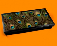 Peacock Feathers Laptop Lap Tray