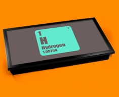 Periodic Table of Elements Hydrogen Laptop Tray