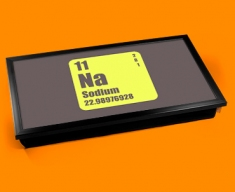 Periodic Table of Elements Sodium Laptop Tray