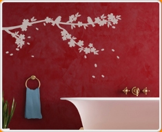 Sakura Tree Blossom Wall Sticker