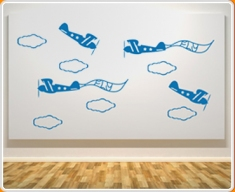 Planes Set Wall Sticker