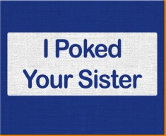 Poke Sister Canvas Art Print