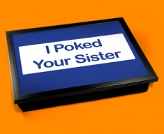 Poke Sister Cushion Lap Tray
