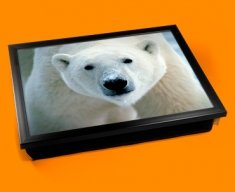 Polar Bear Cushion Lap Tray