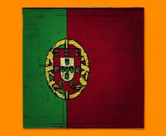 Portugal Flag Napkins (Set of 4)