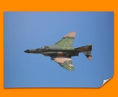 QF 4E Phantom Plane Poster