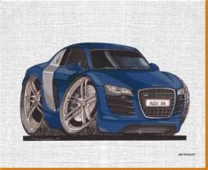 R8 Canvas Art Print