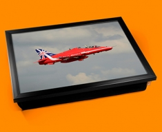 RAF Red Arrows Plane Cushion Lap Tray