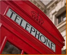 Red Phone Box Canvas Art Print