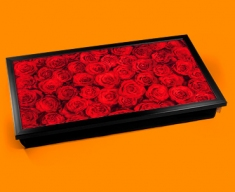 Red Roses Laptop Lap Tray