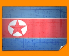 Republic Korea Flag Poster