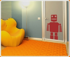 Robot 2 Wall Sticker
