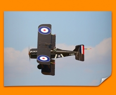 SE5a Royal Aircraft Factory Plane Poster