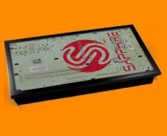 Sapphire Circuitboard Laptop Computer Lap Tray
