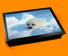Seal Pup Cushion Lap Tray