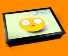 Shock Emoticon Lap Tray