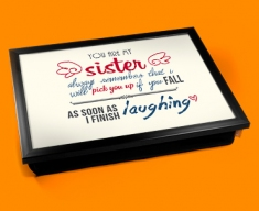 Sister Typography Lap Tray