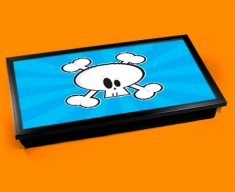 Skull Bones Laptop Lap Tray