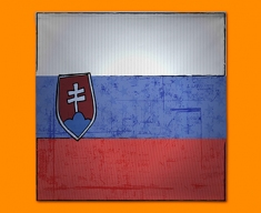 Slovenia Flag Napkins (Set of 4)