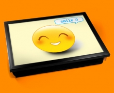 Smile Emoticon Lap Tray