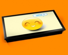 Smile Emoticon Laptop Tray