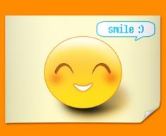 Smile Emoticon Poster