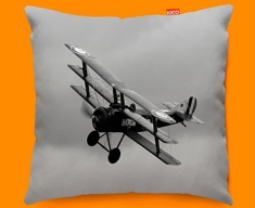 Sopwith Triplane Plane Sofa Cushion