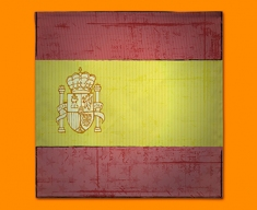 Spain Flag Napkins (Set of 4)